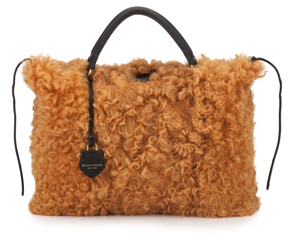 Mr Fill n Buckle Shearling Marmalade