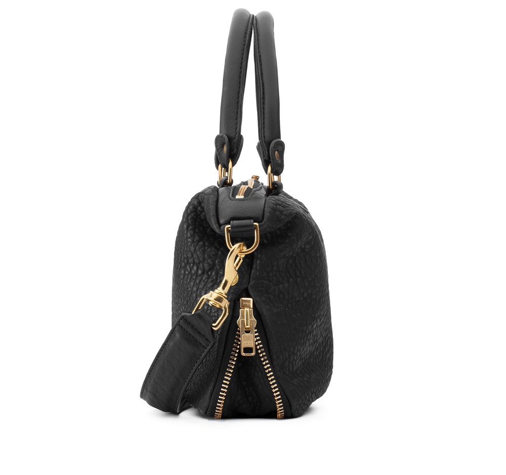Mr Mini Gator Gang Black Handbag