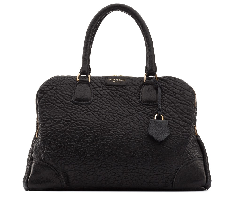 Mr Molten Black Handbag