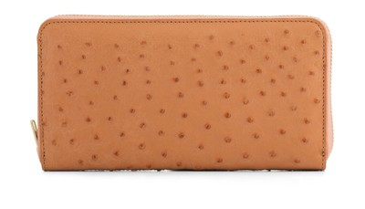 Mr Wallet Pearled Ostrich