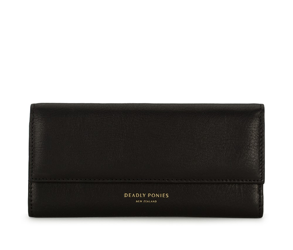 Lady Wallet Black