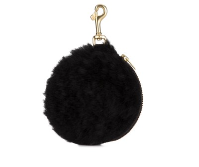 Pom Pom Purse Shearling
