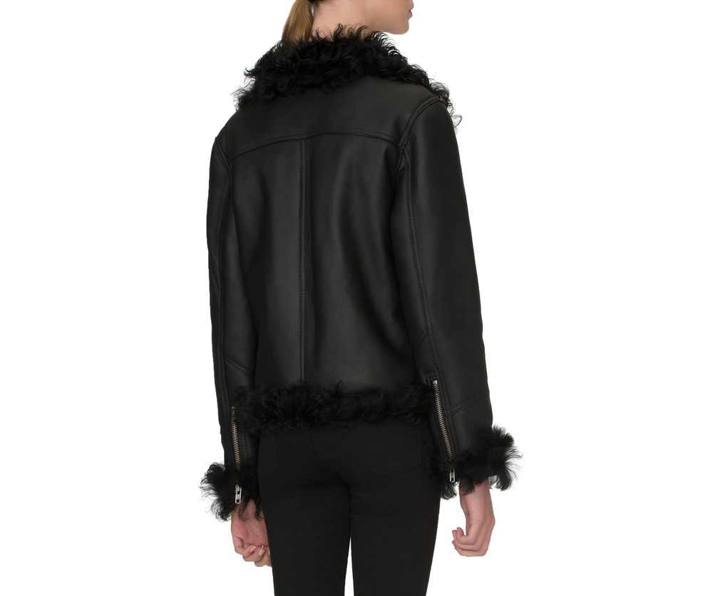 Pony Rider Shearling Black