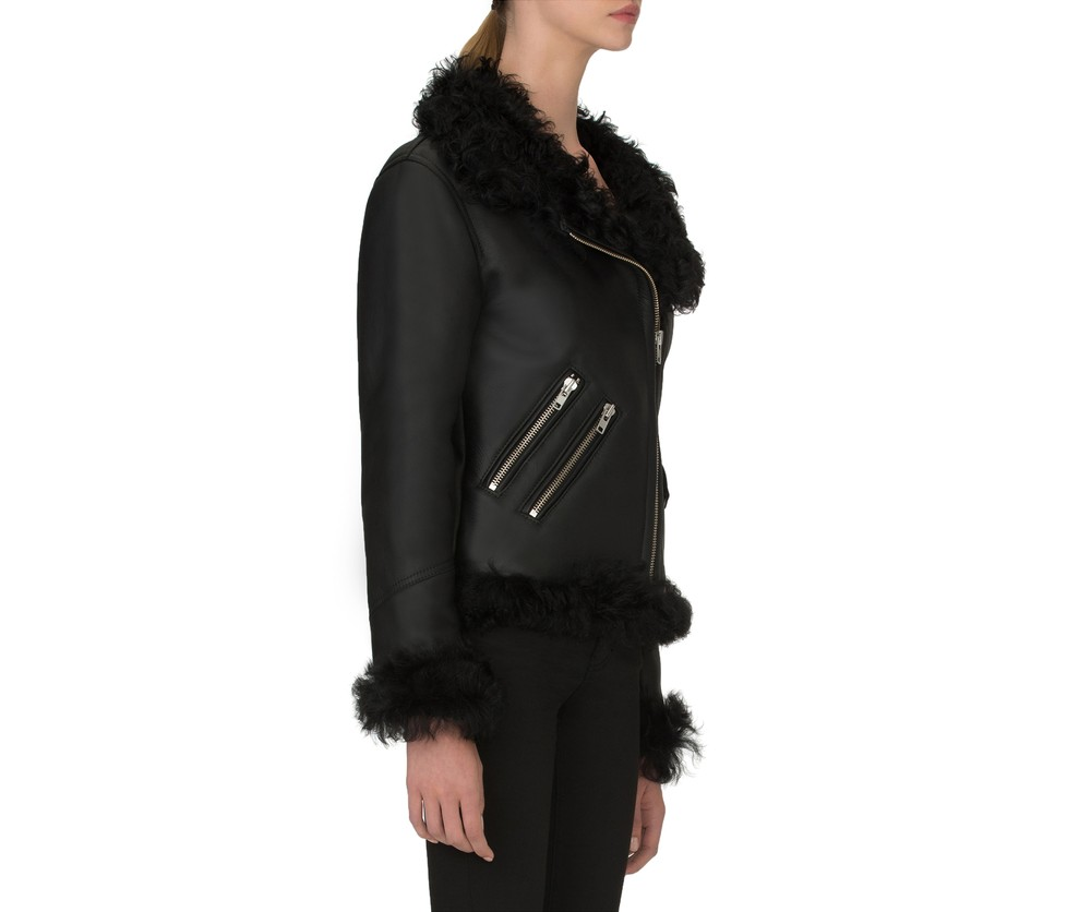 Pony Rider Shearling Black back