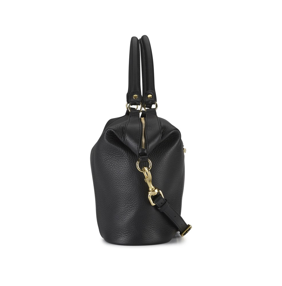 Black | Mr Fill N Zip | Leather Handbags | Deadly Ponies