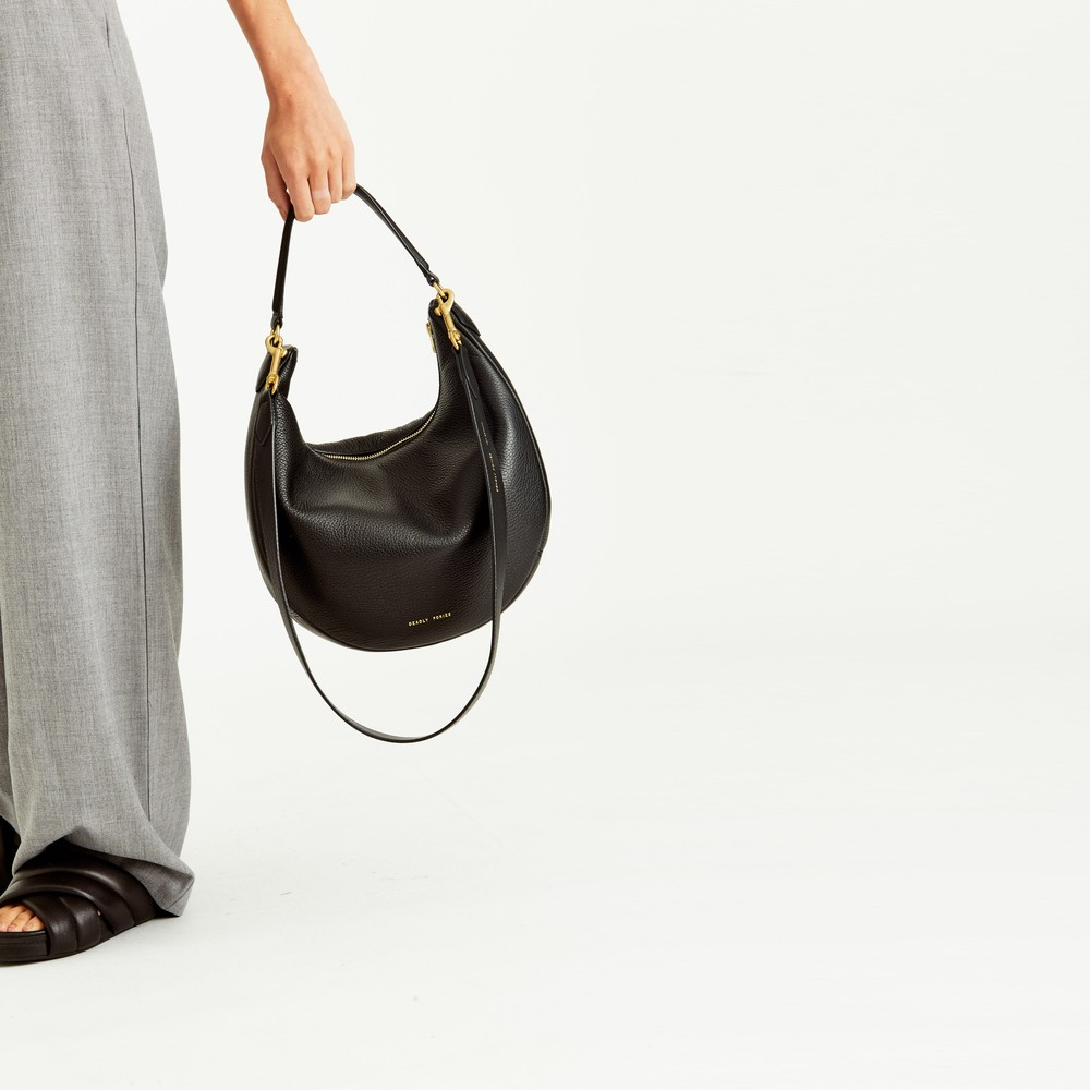 Black | Mr Pinch | Leather Handbags | Deadly Ponies