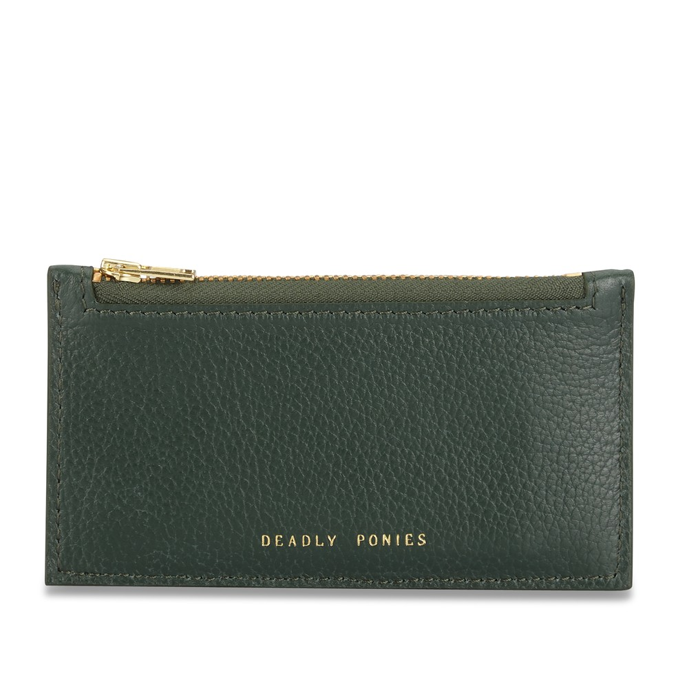 Forest | Card Holder | Leather Wallets | Deadly Ponies