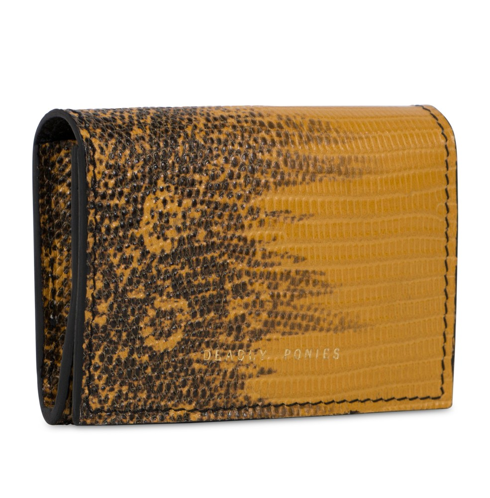 Sahara | Flip N Snap Lizard Wallet | Leather Wallets | Deadly Ponies