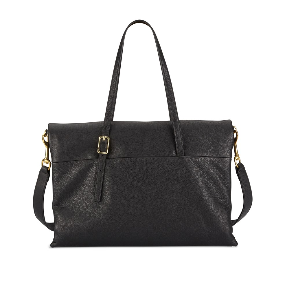 Black | Mr Siamese Maxi | Leather Handbags | Deadly Ponies