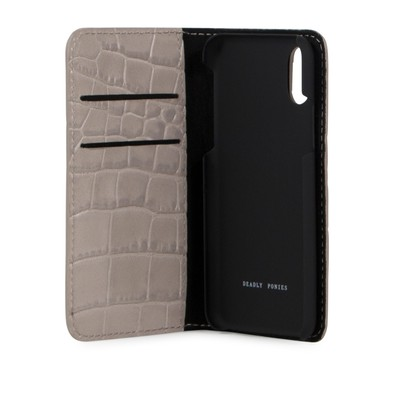Folding Phone Case Croc iPhone X