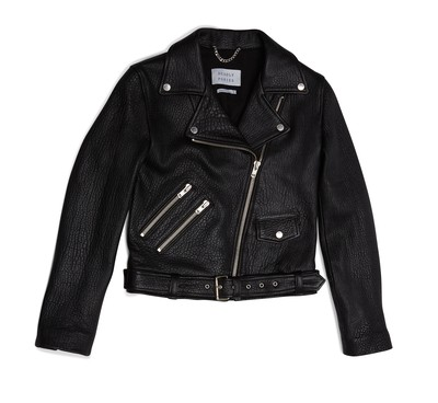 Black | Pony Rider Leather Jacket | Deadly Ponies
