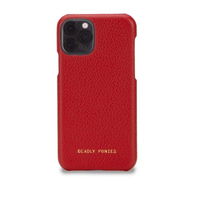 Garnet | Flex Phone Case | Leather Tech Accessories | Deadly Ponies