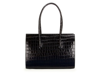 Midnight | Crush Tote Maxi Croc | DLYP