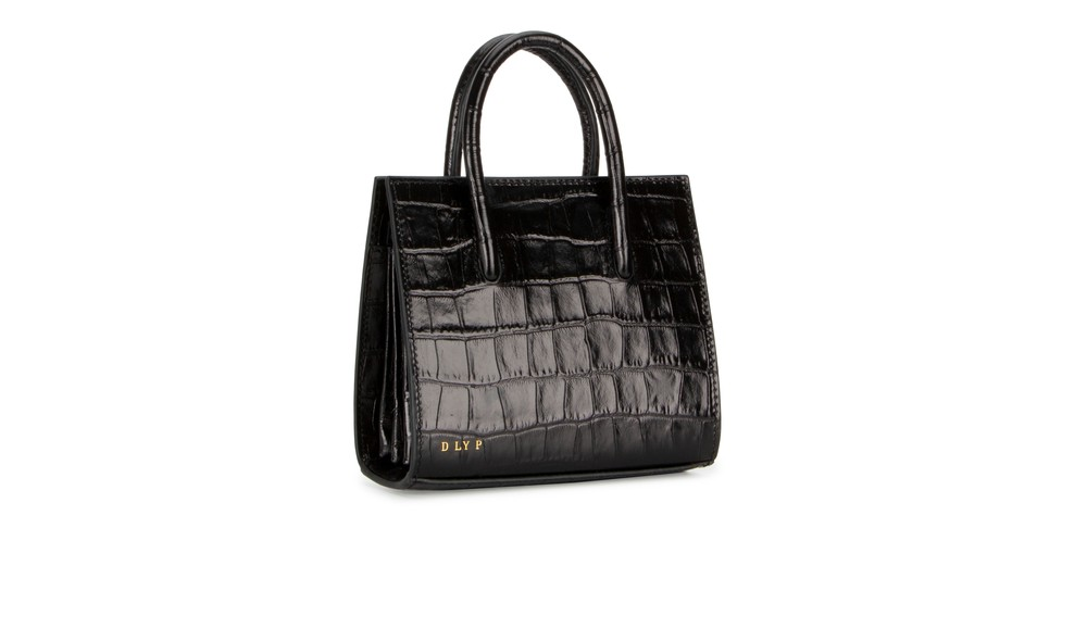 Midnight | Crush Tote Mini Croc | DLYP