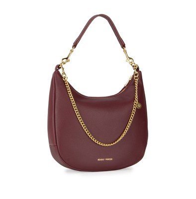 Bordeaux | Mr Sling Mini | Leather Handbags | Deadly Ponies