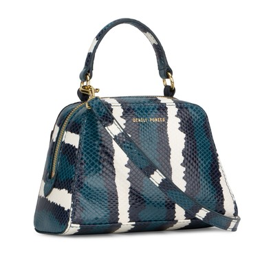 Riviera | Mr Mini Verne Python | Top Handle Handbags | Deadly Ponies
