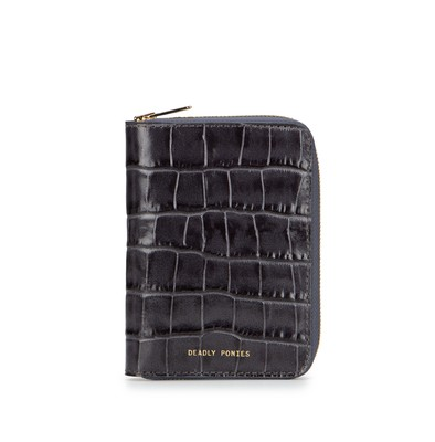 Flint | Passport Wallet Croc | Deadly Ponies