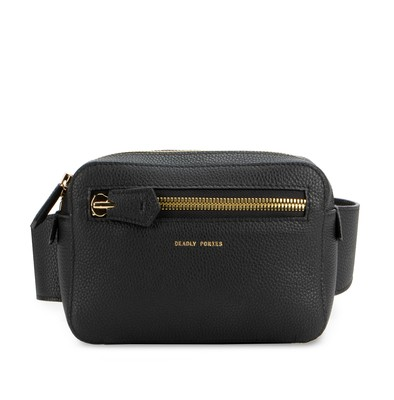 Black | Vault Belt Bag | Deadly Ponies