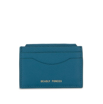 Teal | Card File | Leather Wallets | Deadly Ponies
