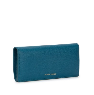 Teal | Lady Wallet | Leather Wallets | Deadly Ponies