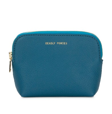 Teal | Poucher | Leather Accessories | Deadly Ponies
