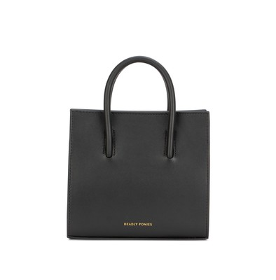 Black | Crush Tote Mini | Deadly Ponies