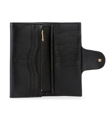Black | Lady Wallet | Leather Wallets | Deadly Ponies