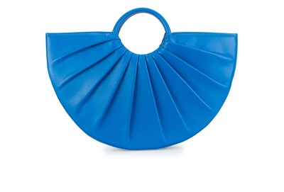 Azure | Pleated Bender Midi | Designer Handbags | D LY P