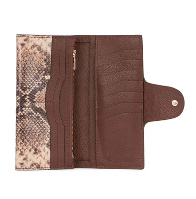 Sepia | Lady Wallet Python | Leather Wallets | Deadly Ponies