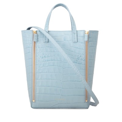 Periwinkle | Mr Scurry Tote Mini Croc | Tote Bags | Deadly Ponies