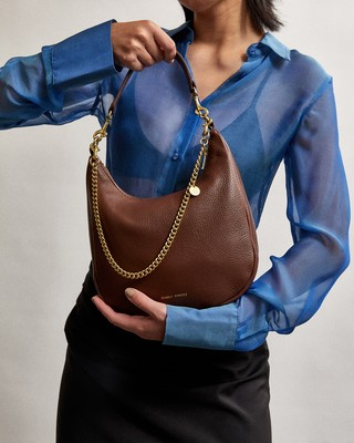 Espresso | Mr Sling Mini | Leather Handbags | Deadly Ponies